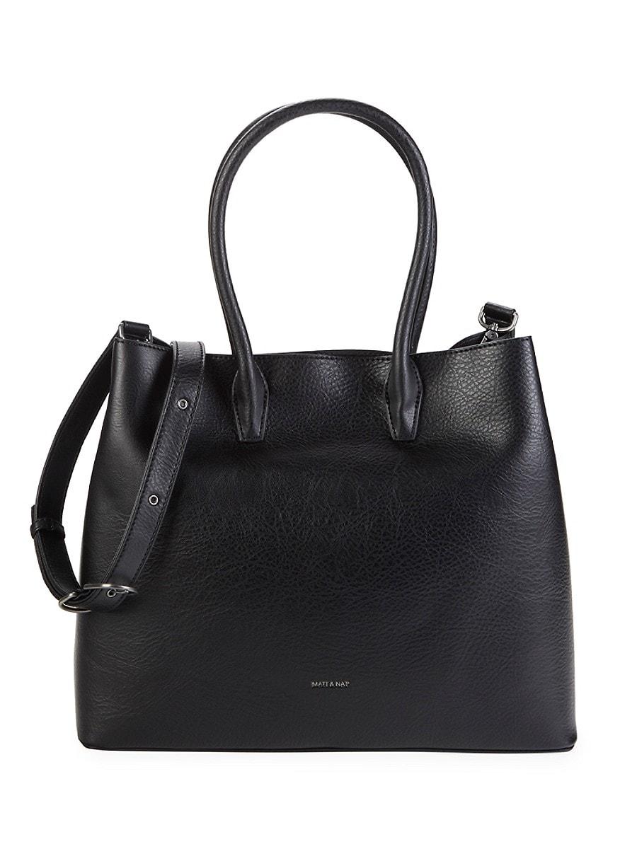 Women's Krista Vegan Leather Top Handle Bag