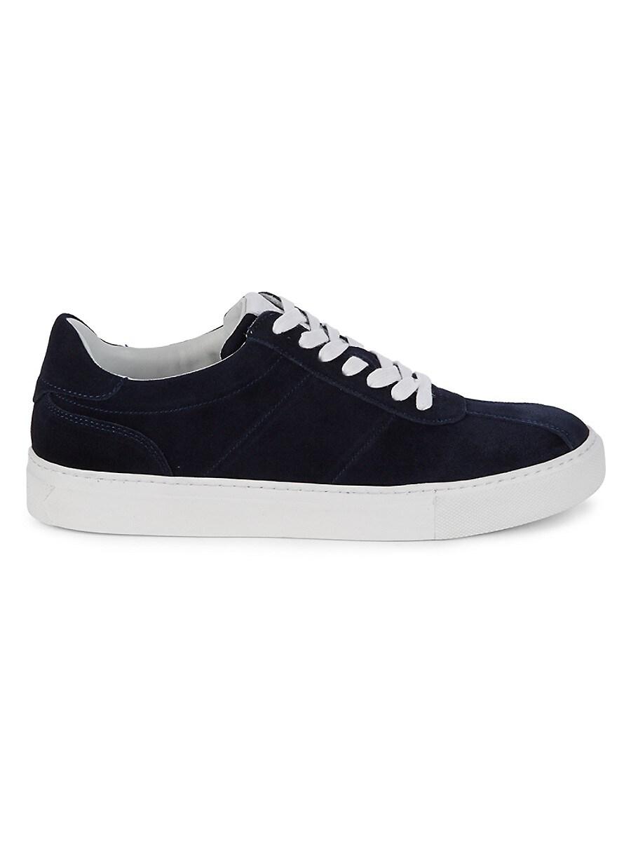 Men's Low Top Suede Sneakers