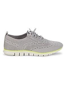 콜한 Cole Haan Zerogrand Stitchlite Oxford Sneakers,GREY
