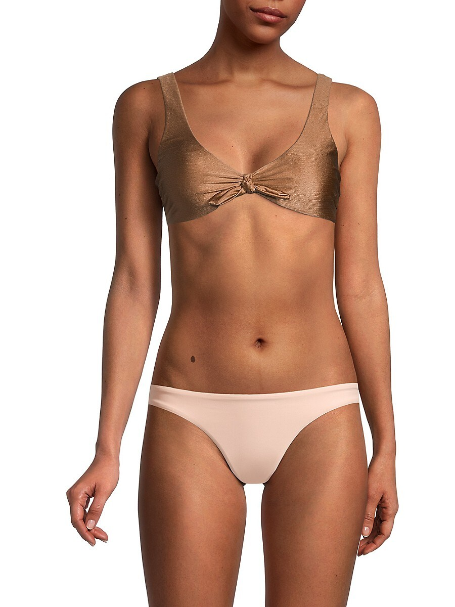 Women's Tie-Knot Bikini Top