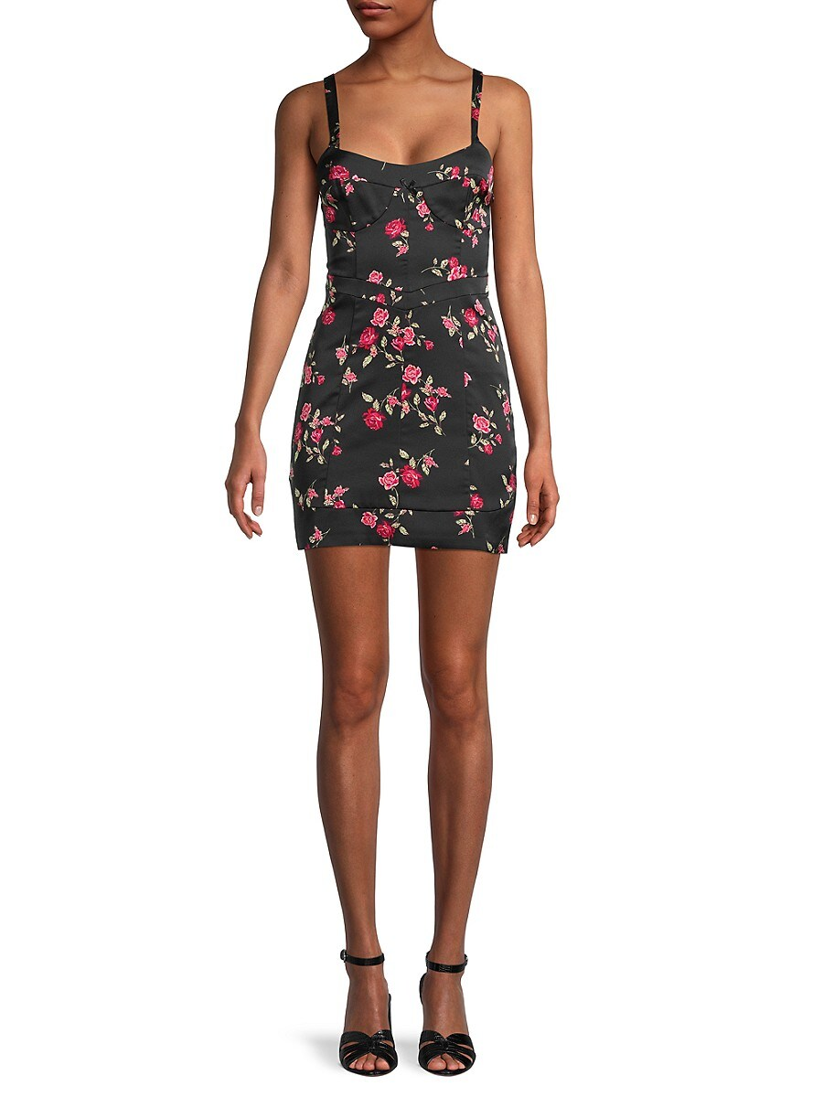 Women's Cassidy Floral Mini Dress