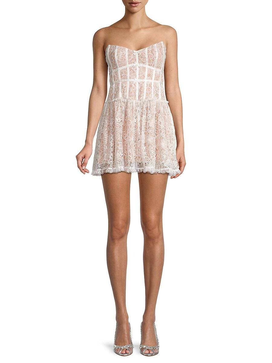 Women's Jelena Lace Strapless Dress