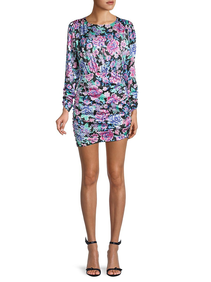 Women's Brandy Floral Ruched Dress