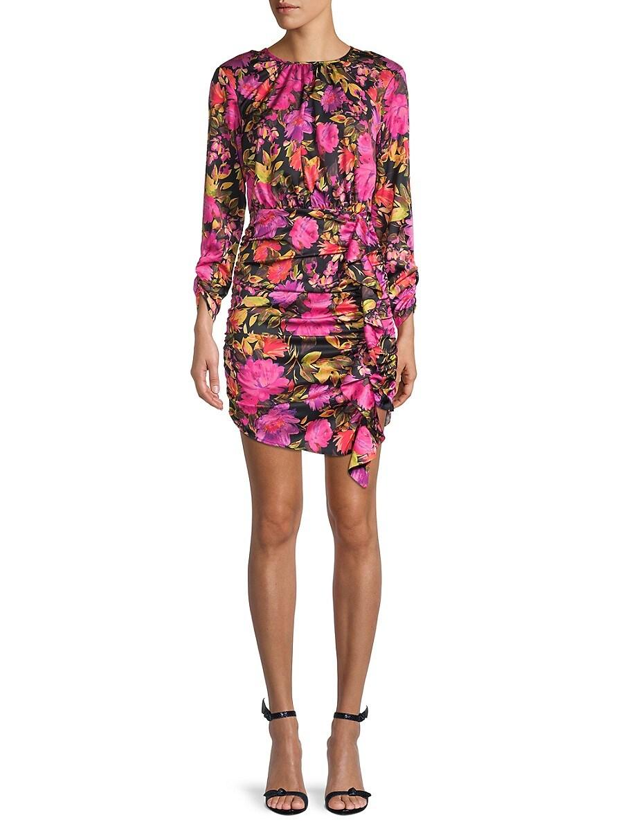Women's Dakota Floral Ruched Dress