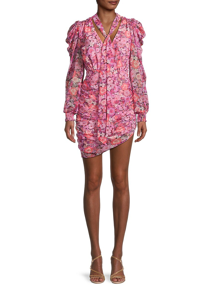 Women's Cheyenne Floral Ruched Dress