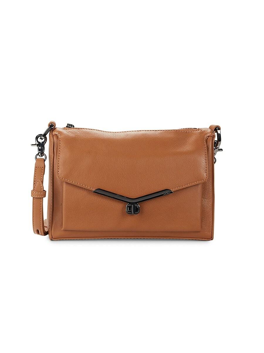 Women's Valentina Leather Shoulder Bag