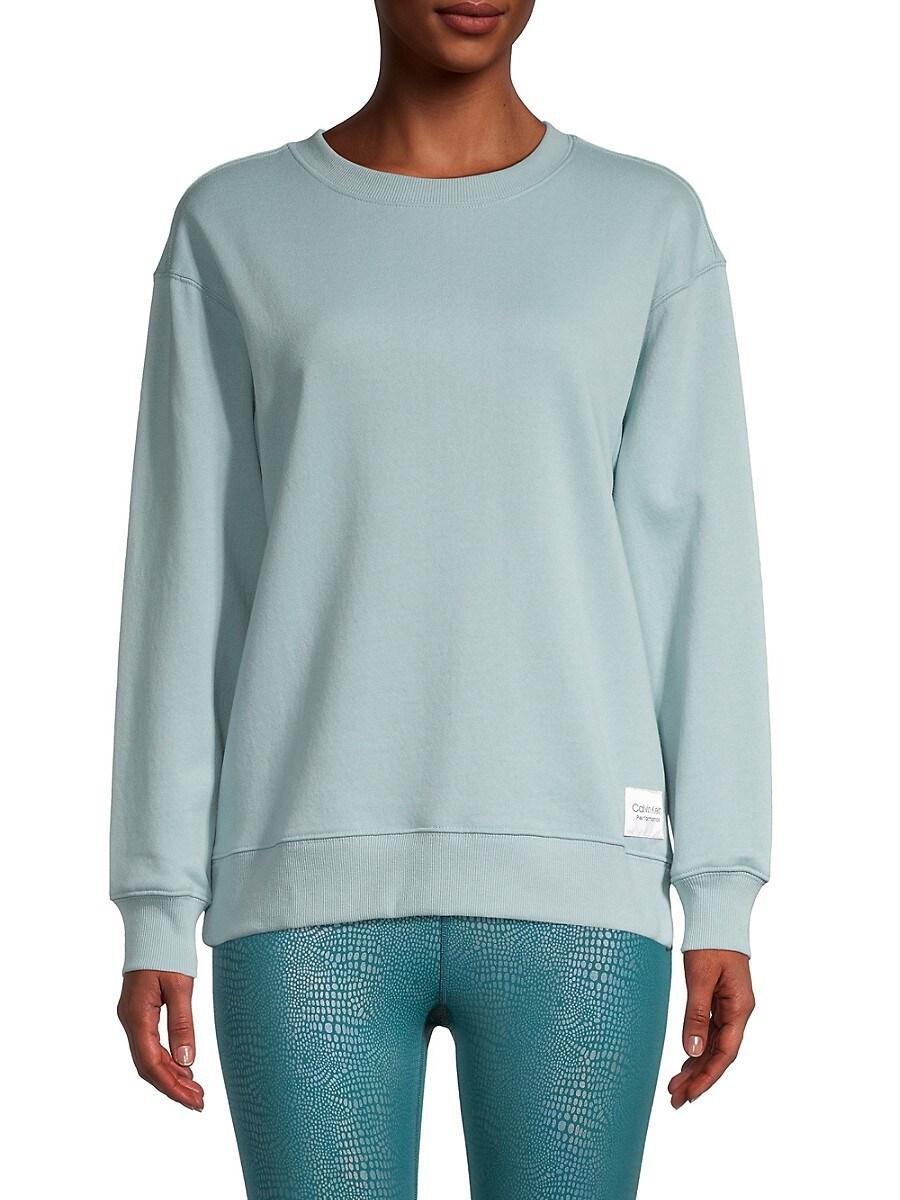 Women's Fleece Patch Sweatshirt