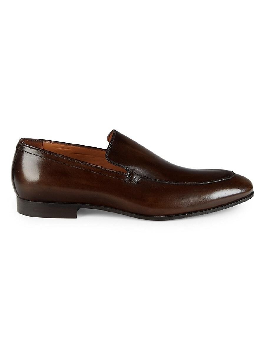 Men's Leather Venetian Loafers