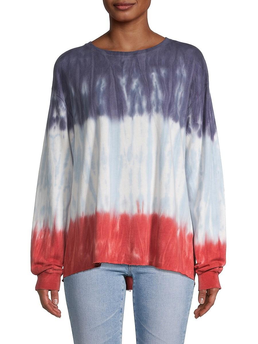 Women's Poppy Tie Dye Sweatshirt