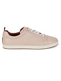 발리 Bally Janette Leather Sneakers,PETAL