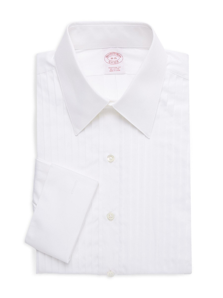 Men's Traditional-Fit Striped Dress Shirt