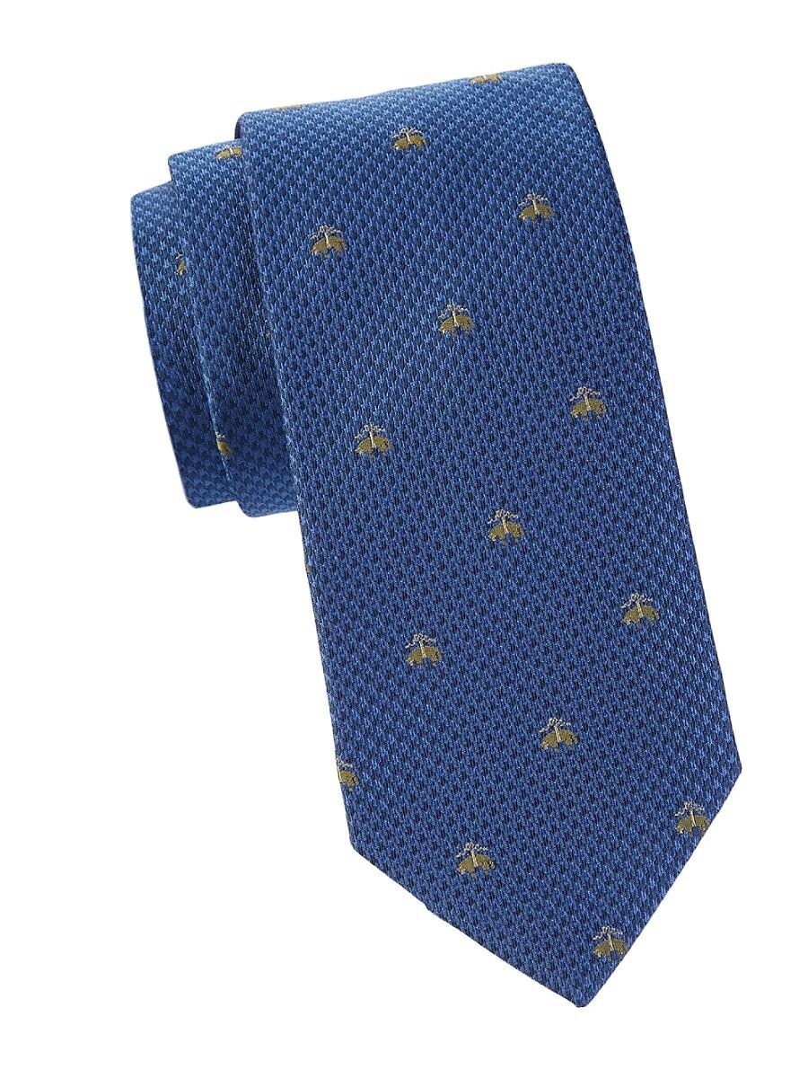 Men's Logo Silk Tie