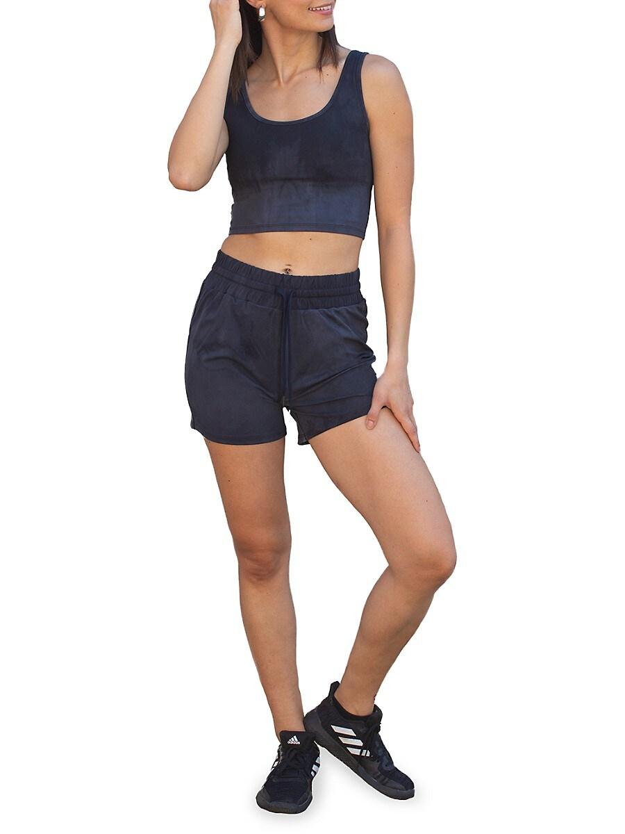 Women's Tie-Dye Drawstring Shorts