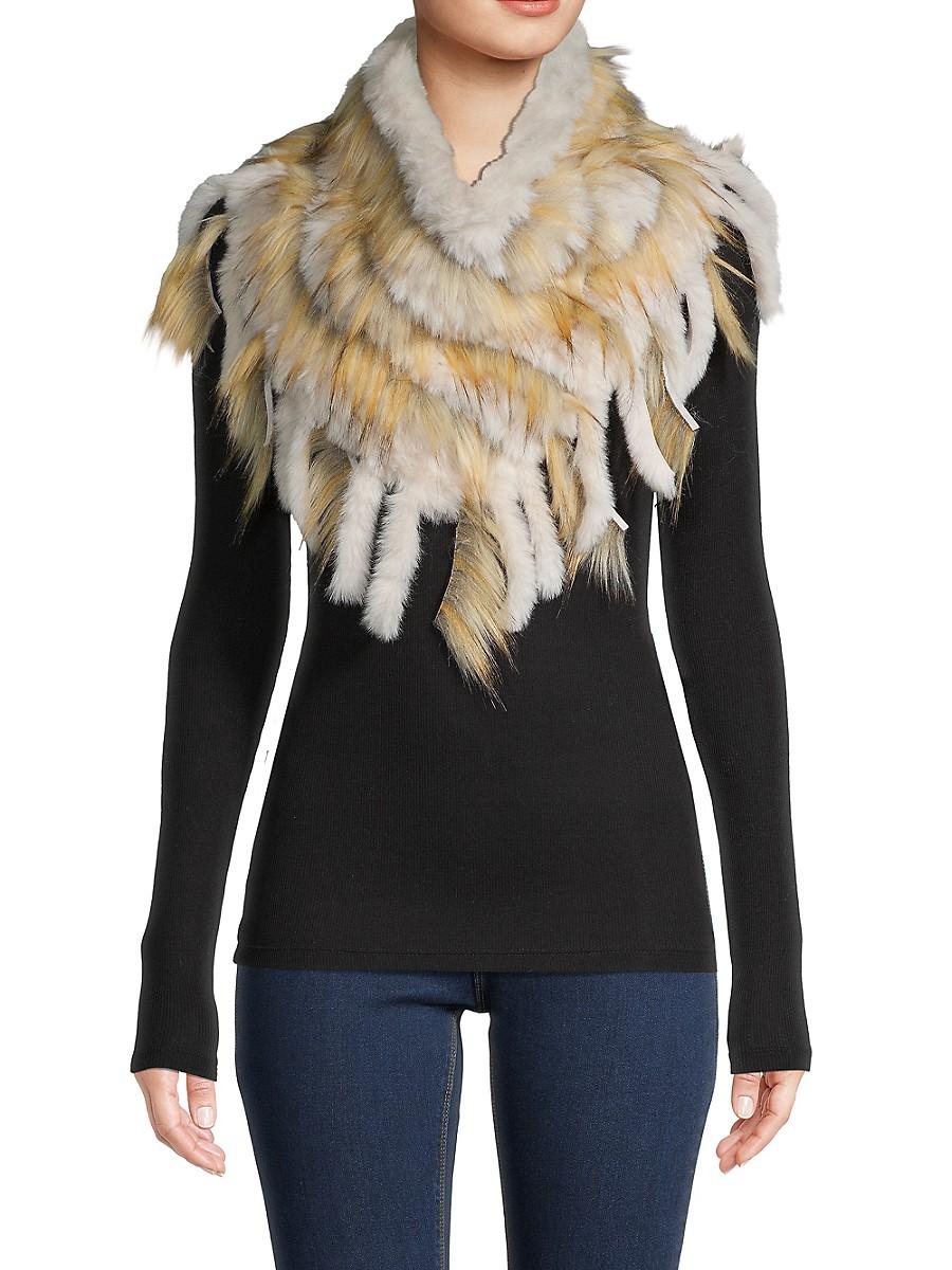 Women's Faux Fur Muffler