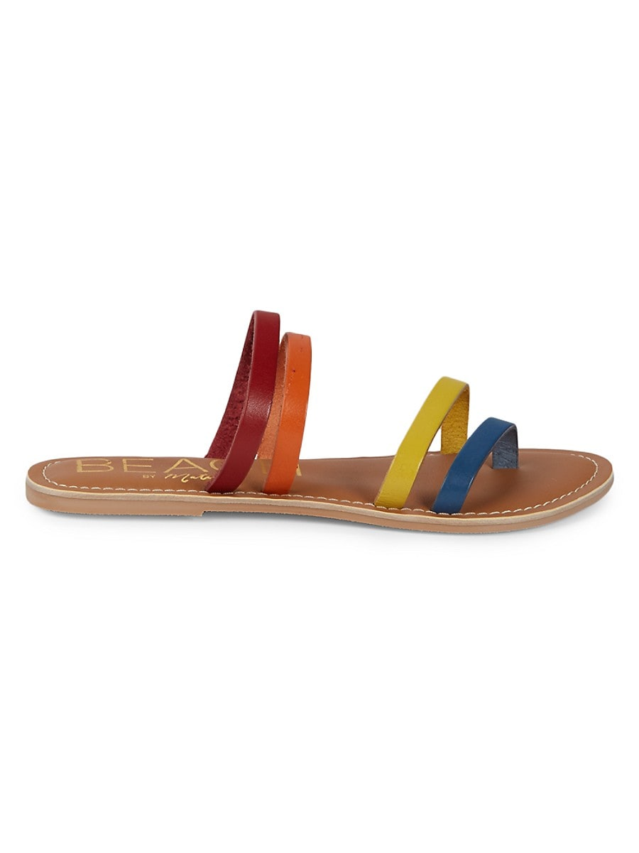 Women's Leather Strappy Sandals