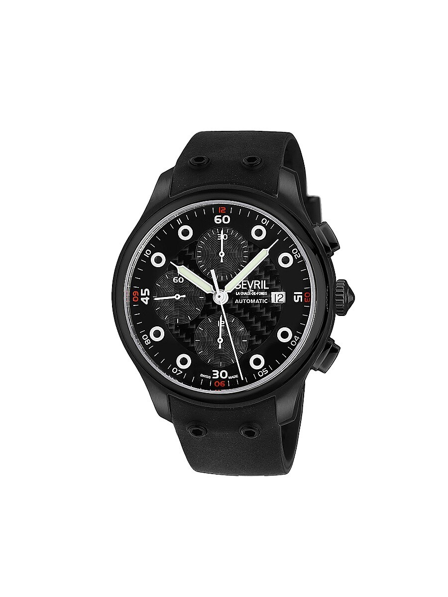 Men's Canal St. Diver Swiss Automatic Stainless Steel Chronograph Watch