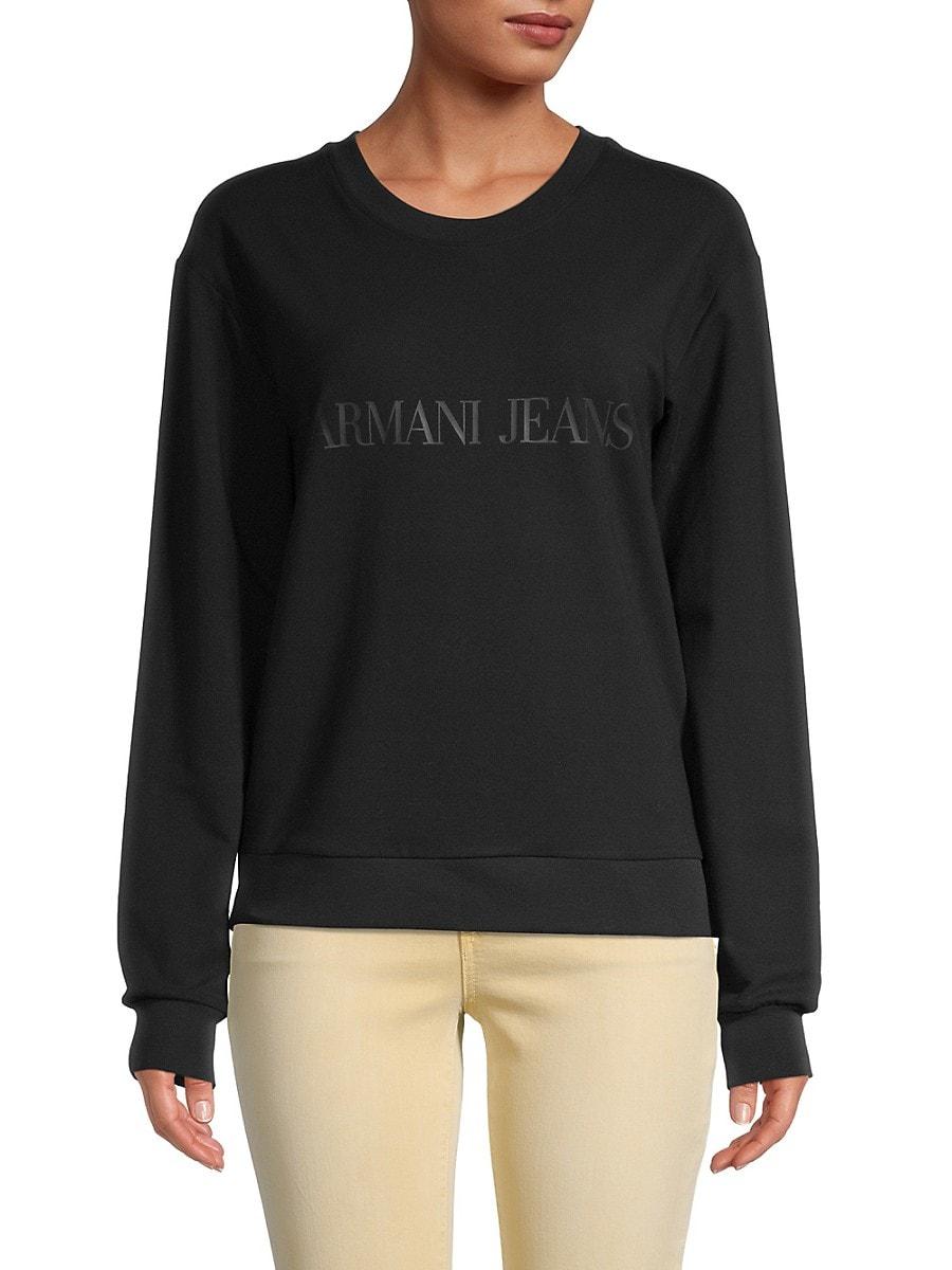 Women's Logo Dropped-Shoulder Sweatshirt