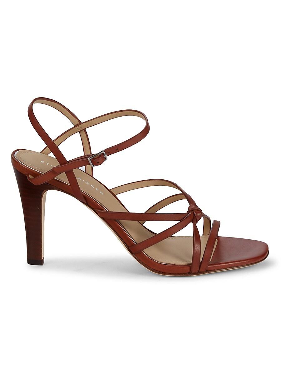 Women's Milan Leather Heeled Sandals