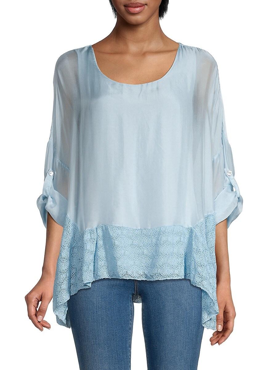 Women's Silk-Blend Tunic