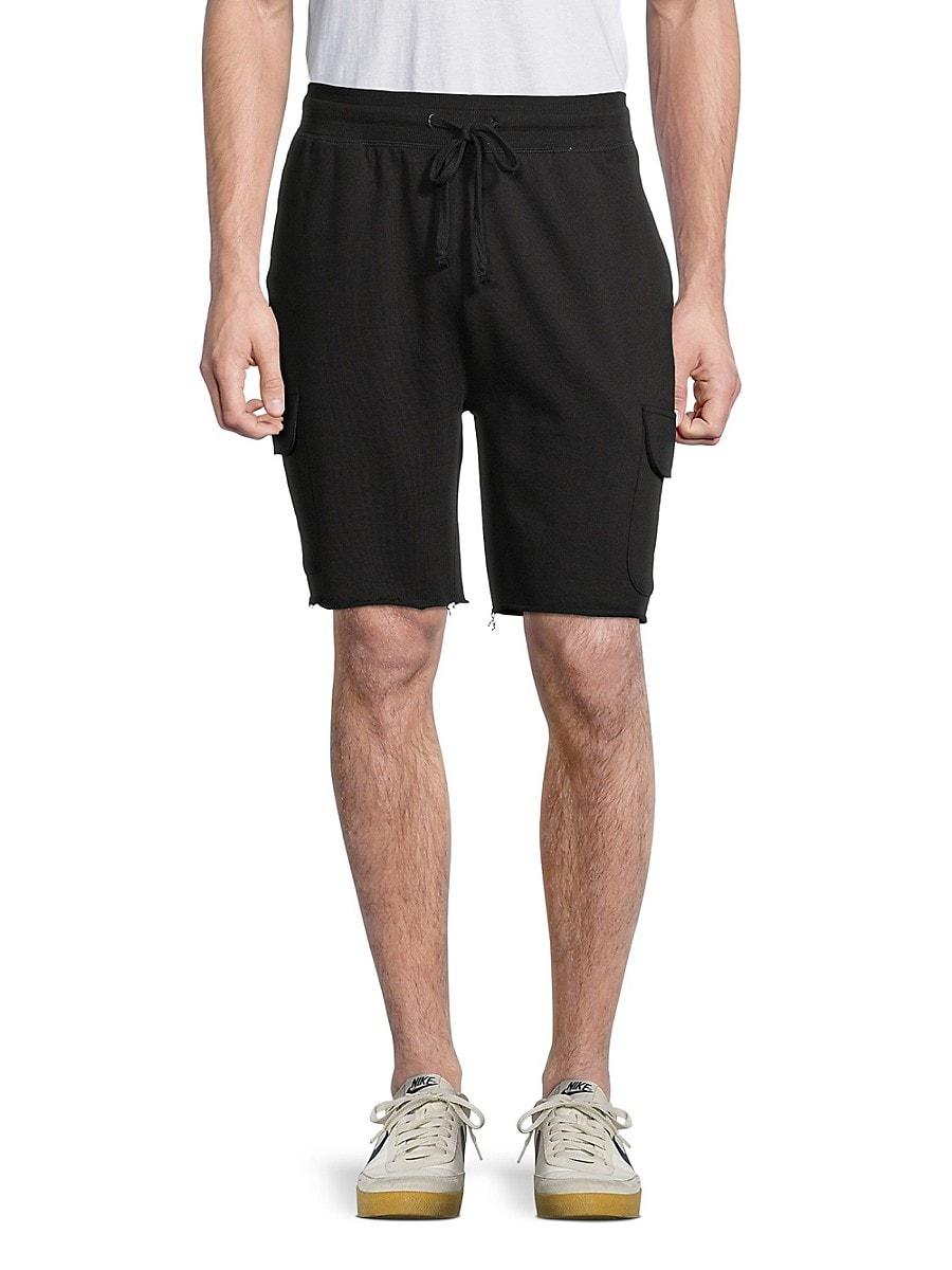 Men's Drawstring Cargo Shorts