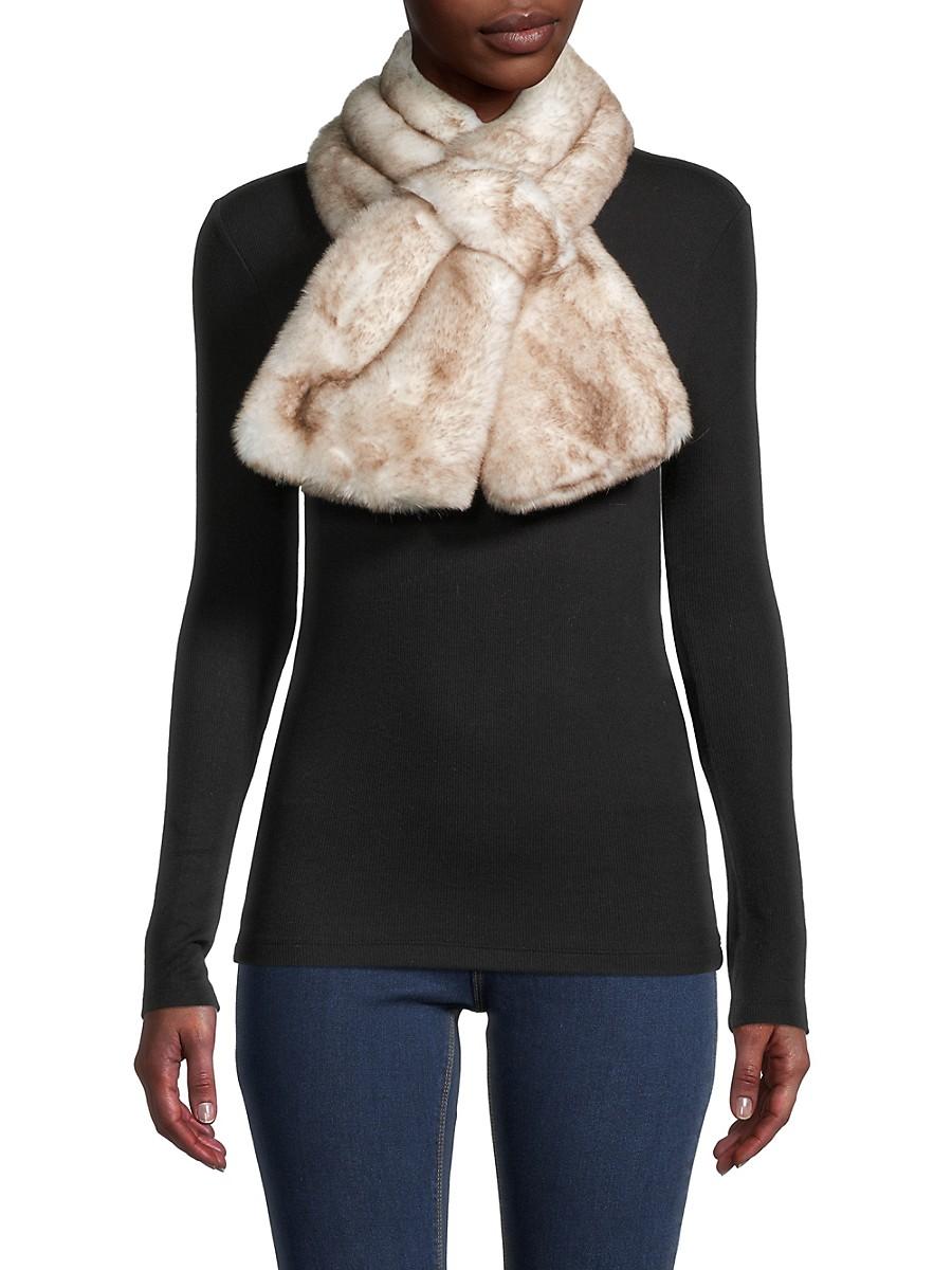 Women's Faux Fur Scarf