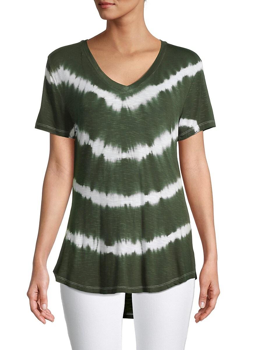 Women's Tie-Dye HIgh-Low T-Shirt