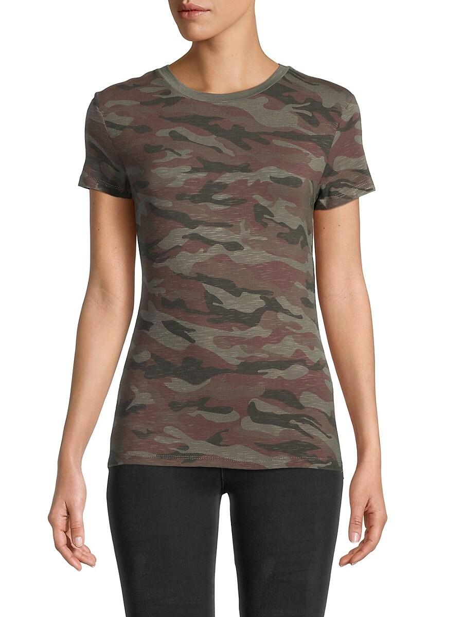 Women's Missy Camo-Print T-Shirt