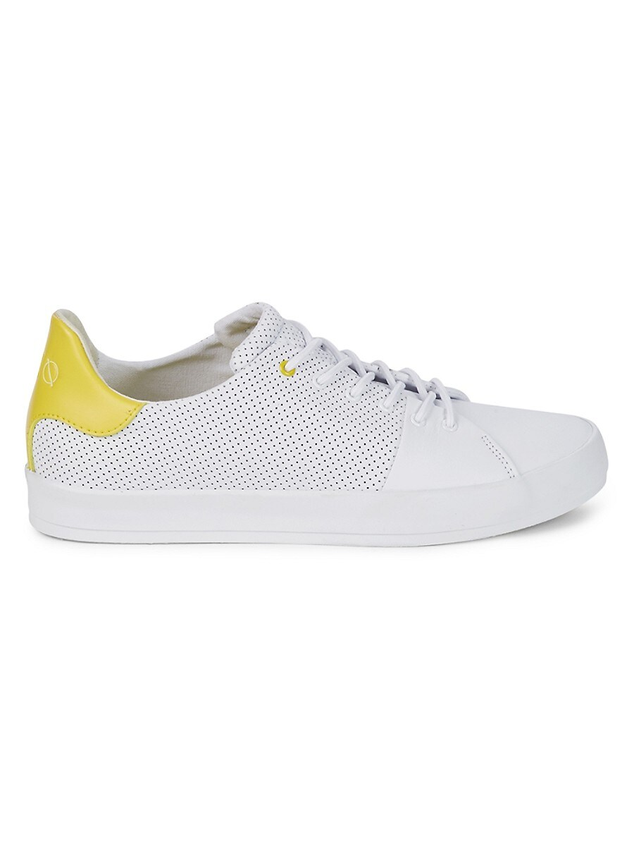 Men's Carda Perforated Leather Sneakers