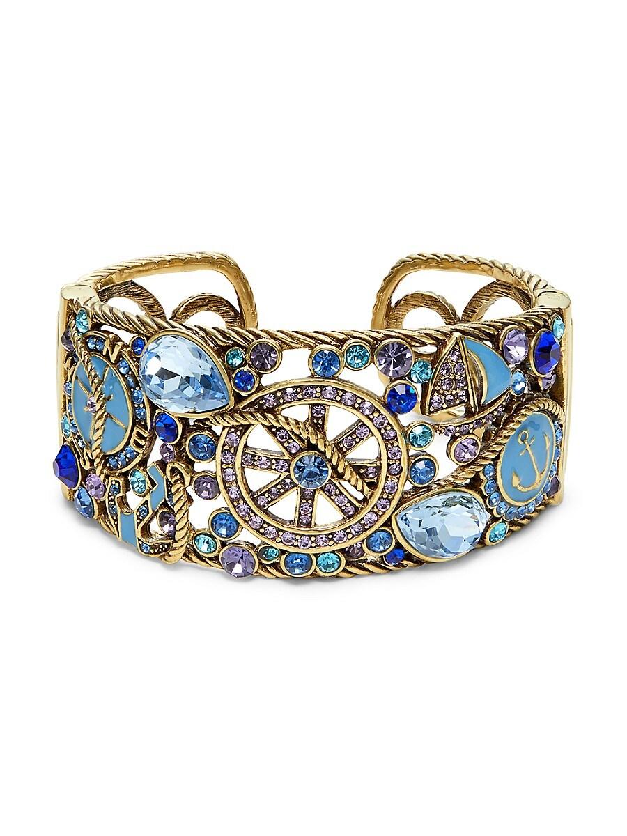 Women's Nautical Crystal Bracelet