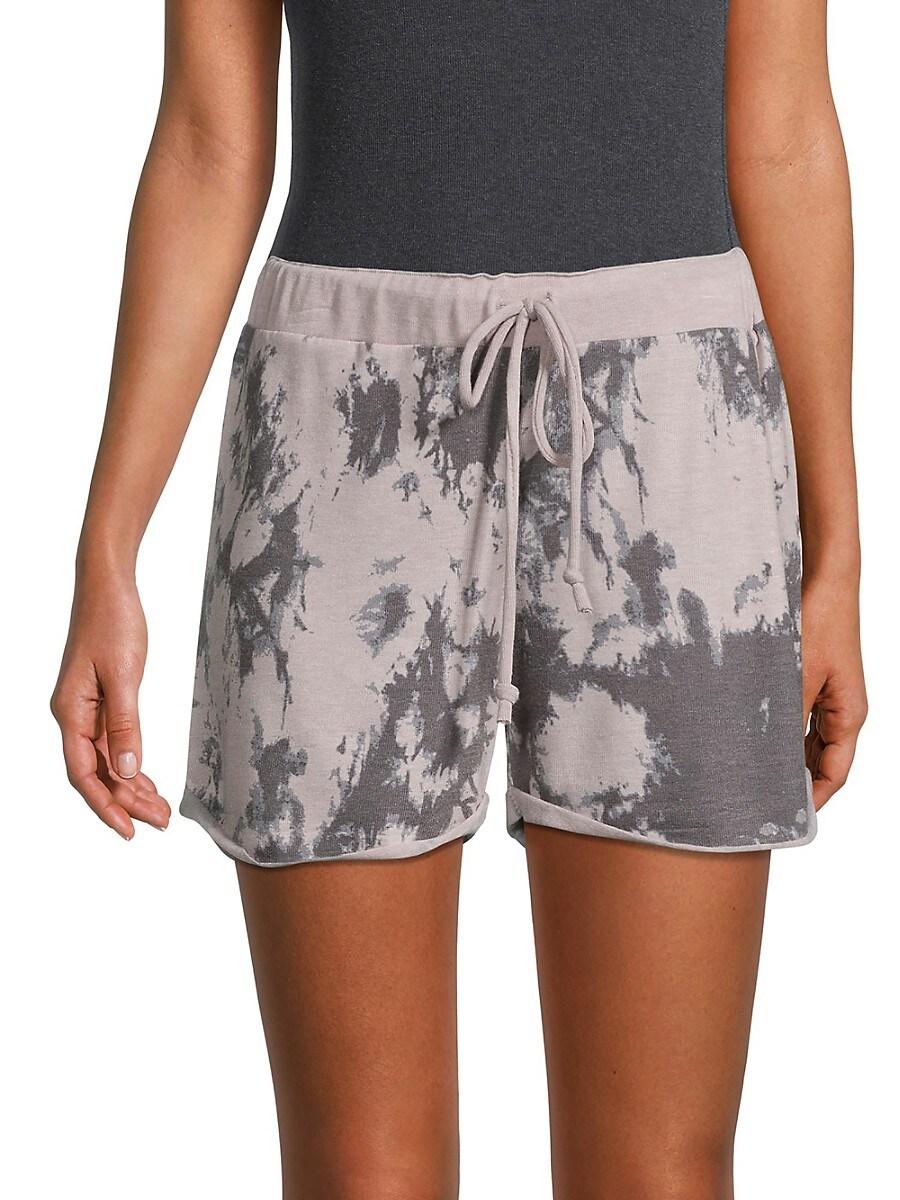 Women's Tie-Dye Shorts