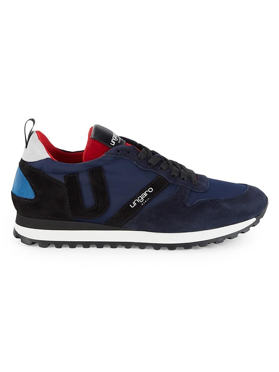 Men's Mixed-Media Sneakers