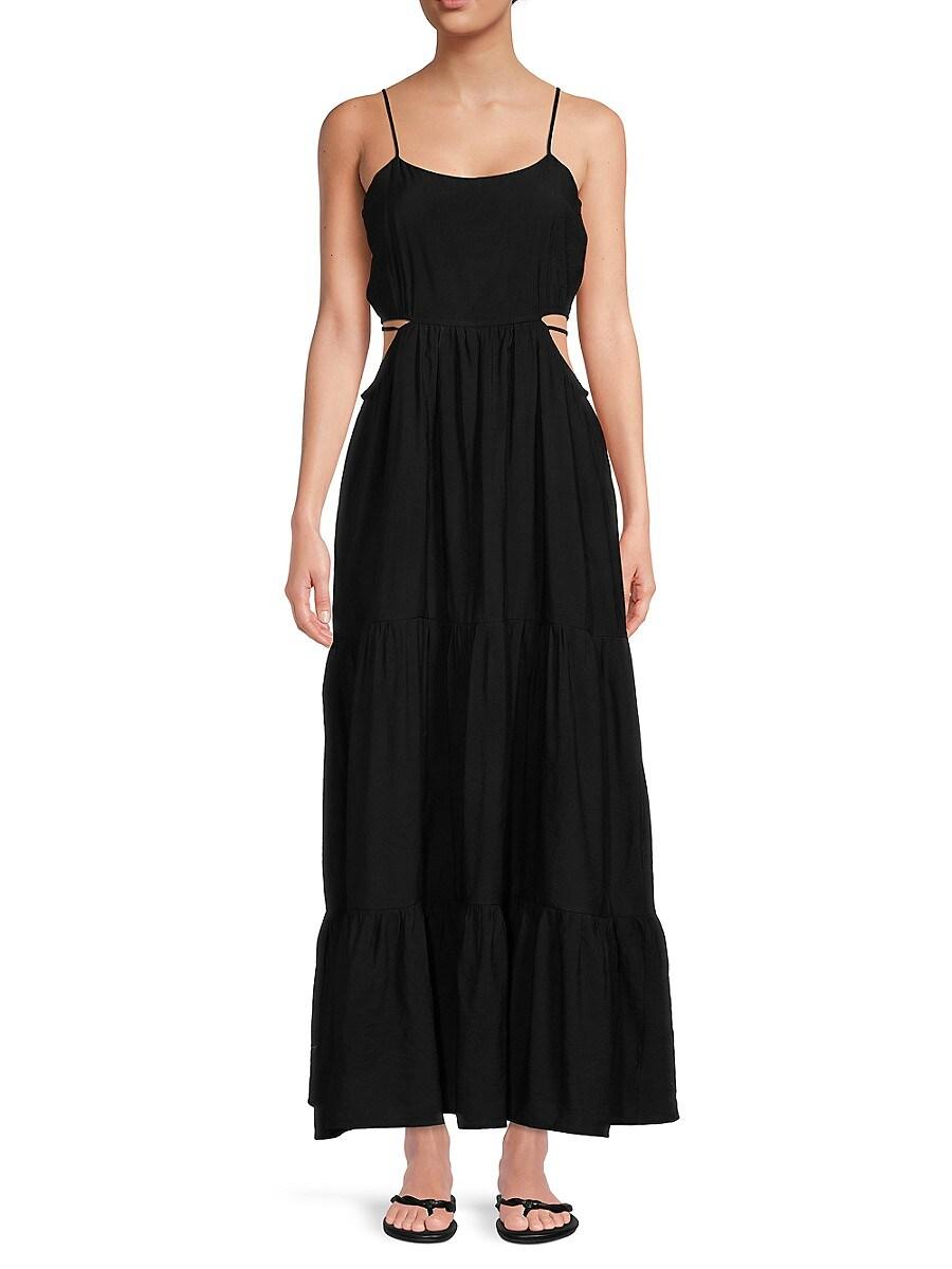 Women's Tiered Maxi Dress