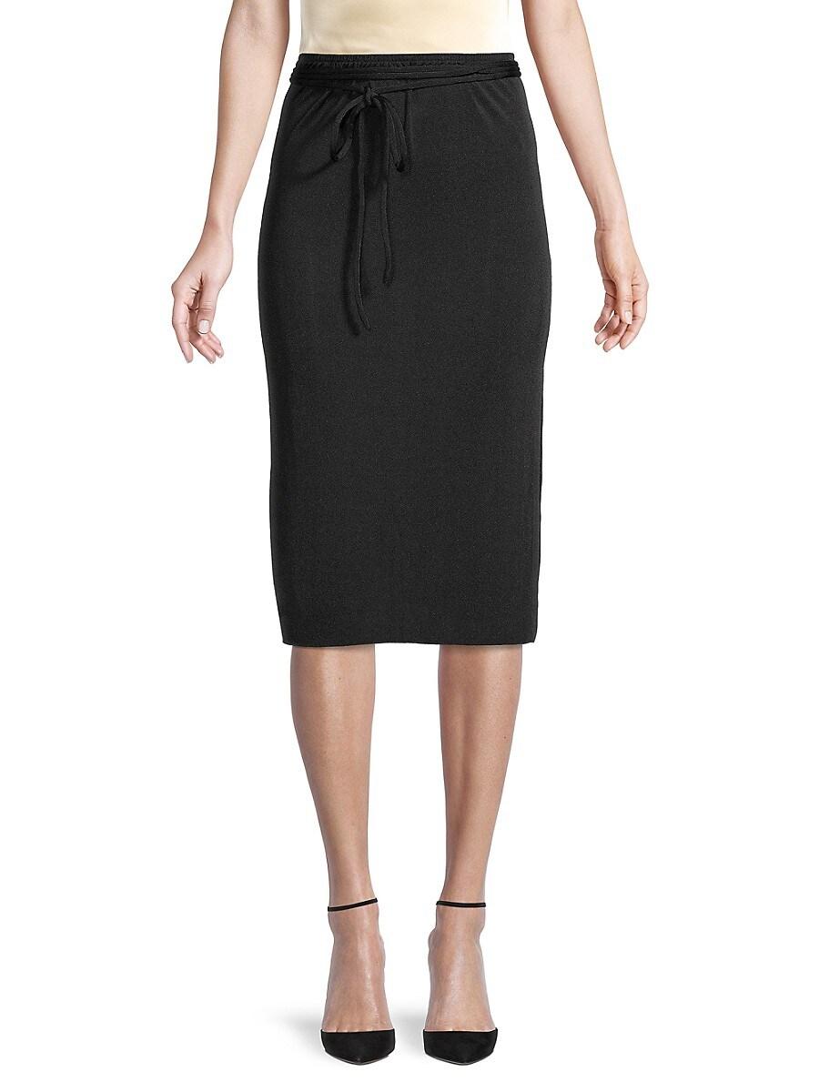 Women's Tie-Belt Skirt