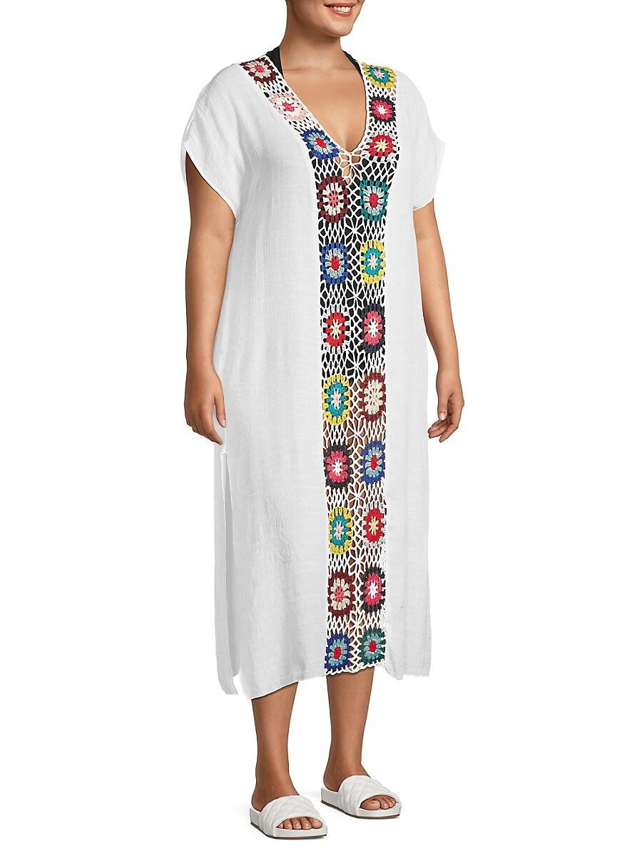 Women's Crochet Coverup Dress