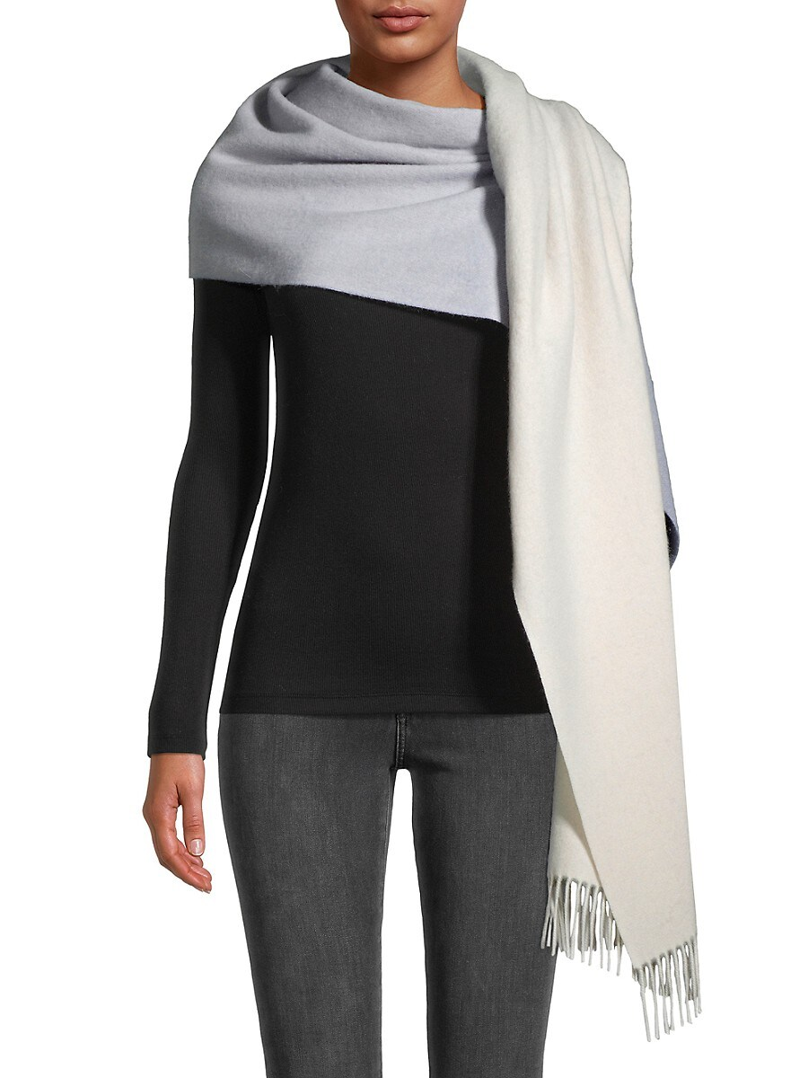 Women's Wool & Cashmere Ombre Scarf
