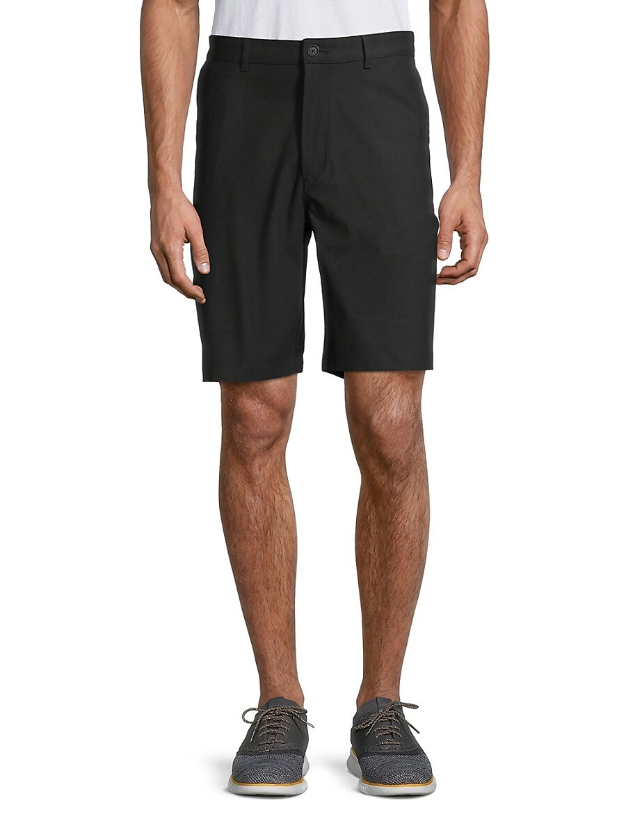 Men's Textured Bermuda Shorts