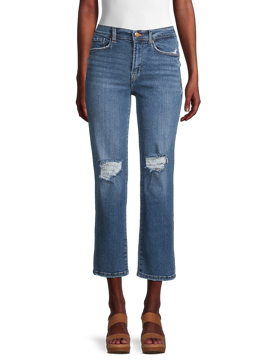Women's High-Rise Slim Fit Jeans