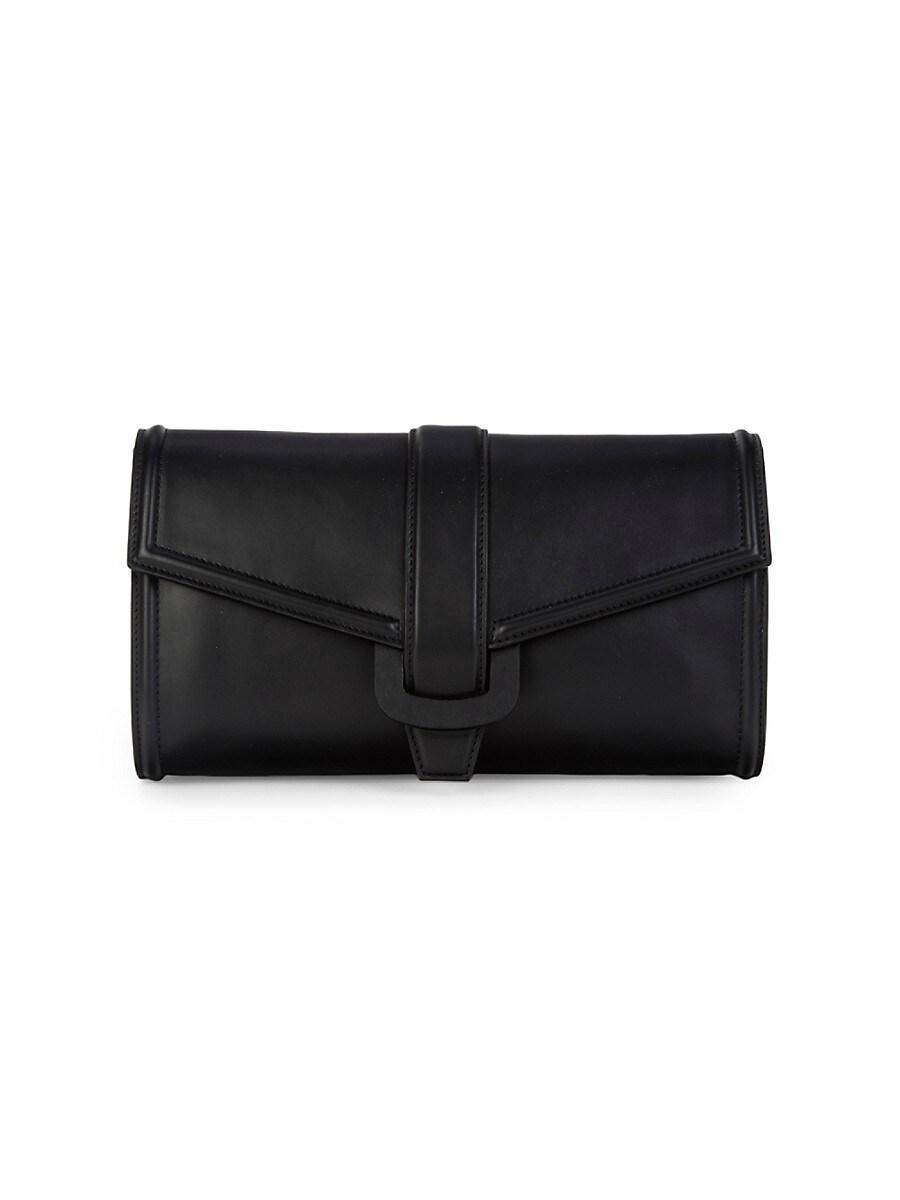 Women's Leather Envelope Clutch