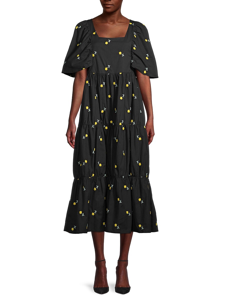 Women's Allover Flower Dress