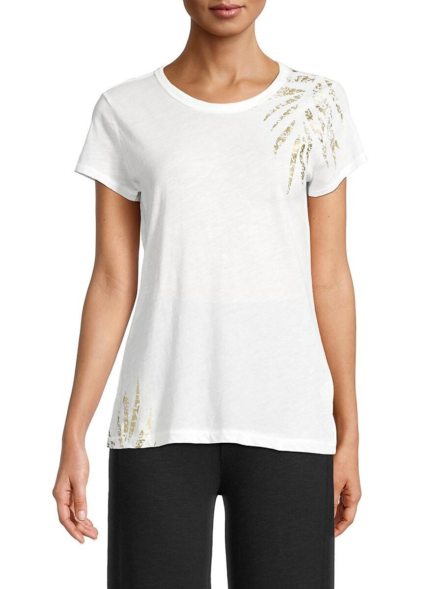 Grey State Women's Palm T-Shirt - Spa White - Size L