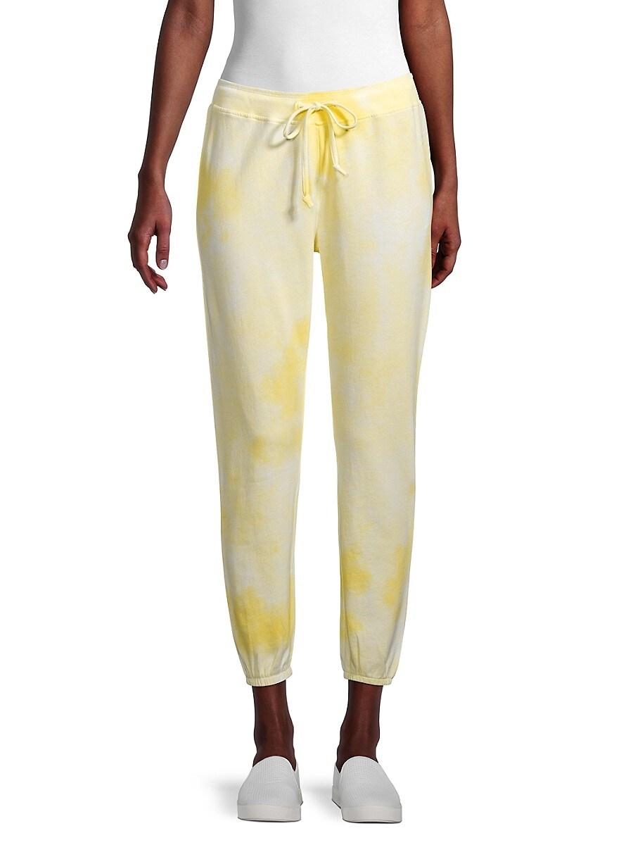 Women's Tie-Dye Cropped Sweatpants