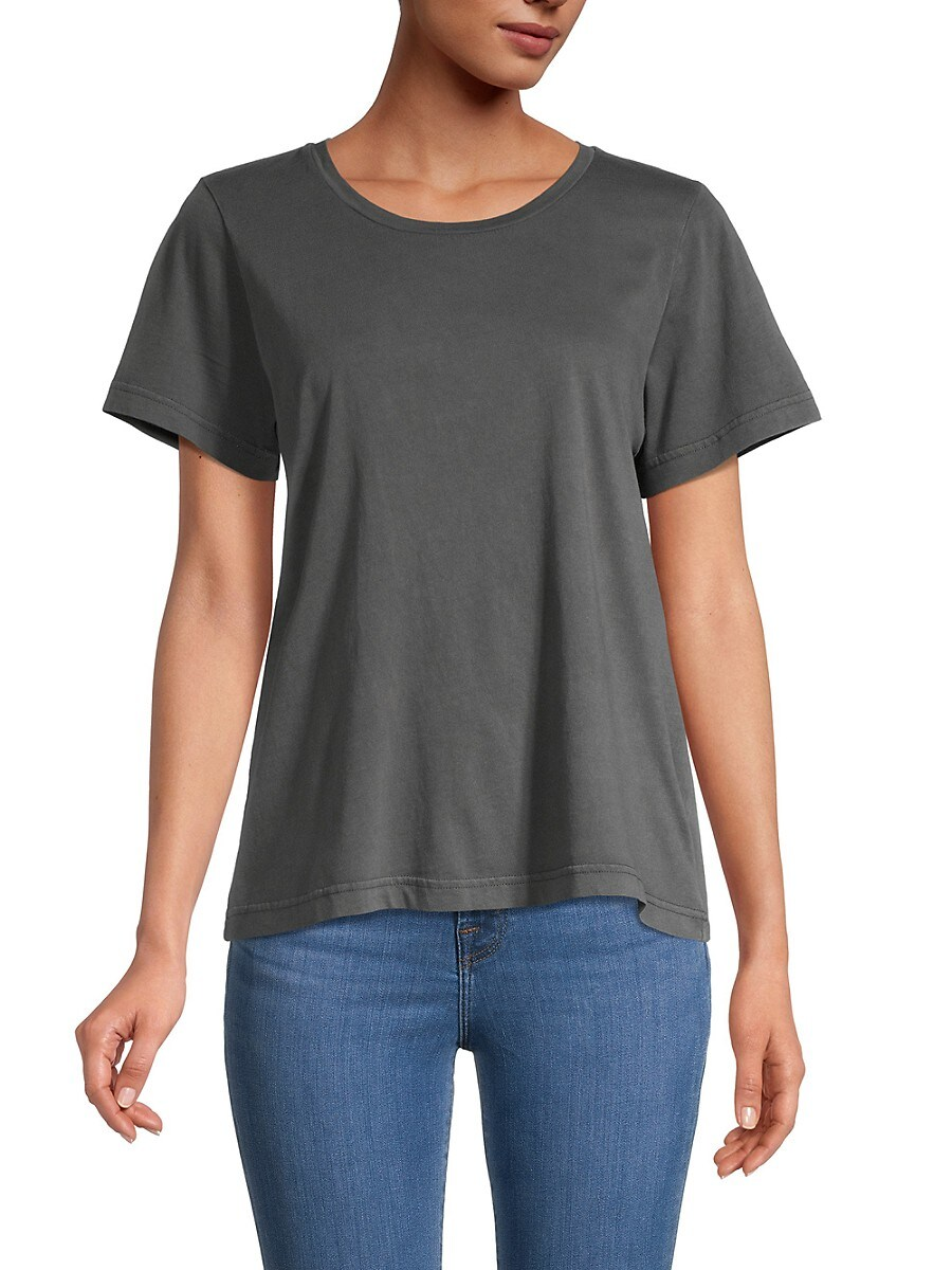 Women's Solid-Colored T-Shirt
