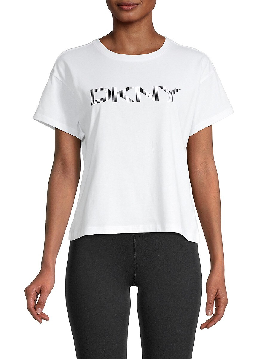 Women's Boxy Cropped Logo T-Shirt