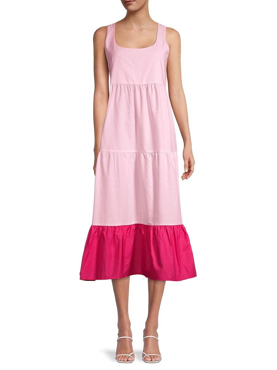 Women's Tiered Midi Dress