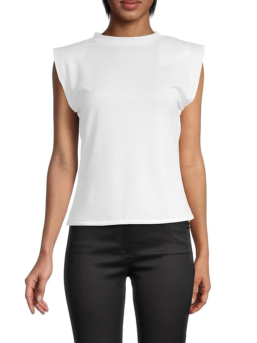 Women's Shoulder-Pad Top
