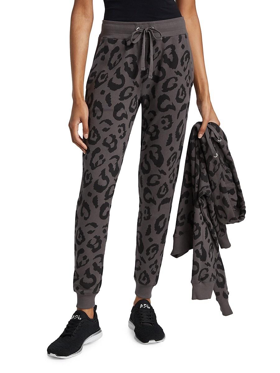 Women's Big Leopard Sweatpants