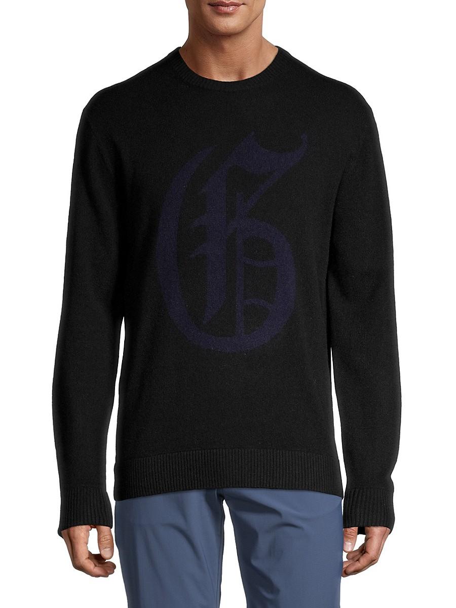Men's Wool & Cashmere Knit Crewneck Sweater