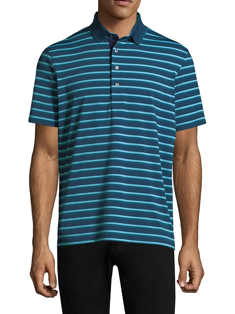 Men's Massapequa Modern Tailored-Fit Embellished Polo