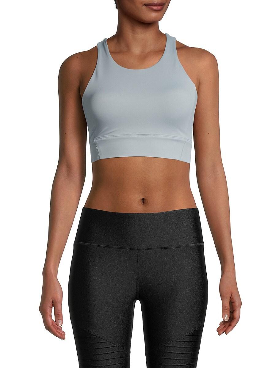 All Fenix Women's All Core Racerback Sports Bra - Light Blue - Size XL