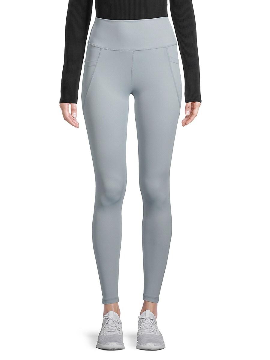 All Fenix Women's All Core High-Waist Leggings - Light Blue - Size XL